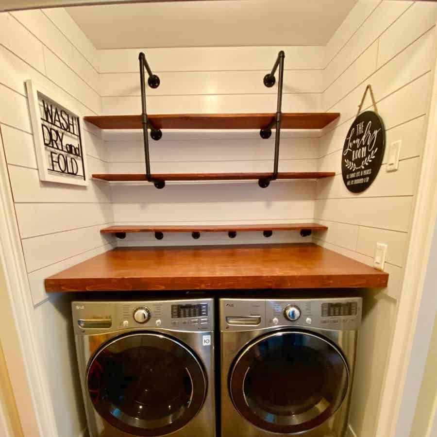 counter laundry closet ideas lindaclyde7