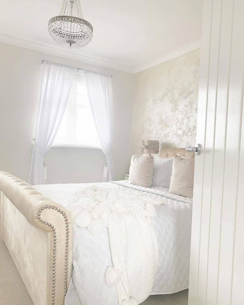 country chic white bedroom ideas our188home