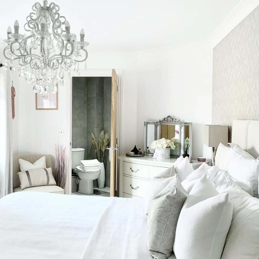 country chic white bedroom ideas the_decozi_home