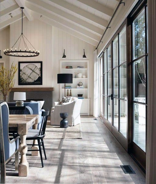 Country Concrete Floor Ideas