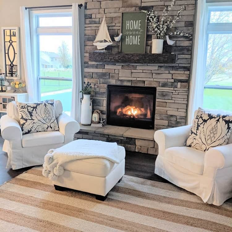 Country Cottage Mantel Decor Ideas Homestylesllc