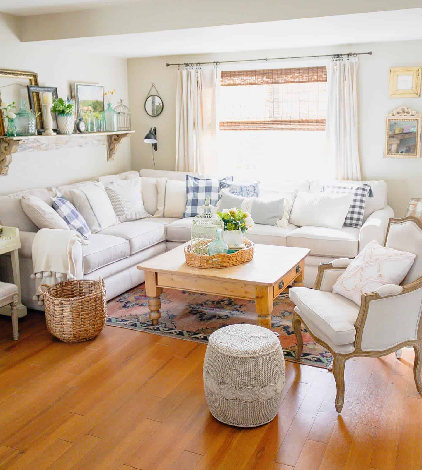 Country Style Farmhouse Living Room Ideas Brightyellowdoor