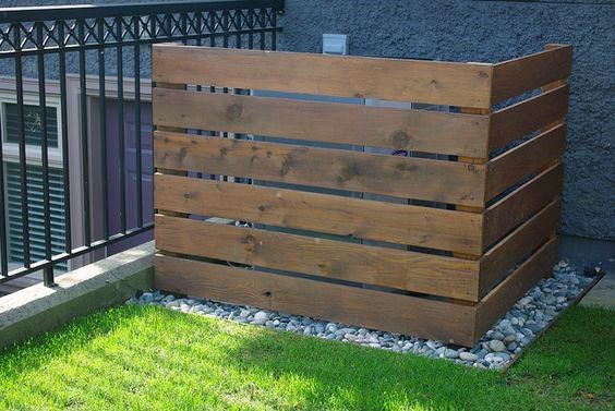 Cover For Pool Equipment Simple Wood Fence