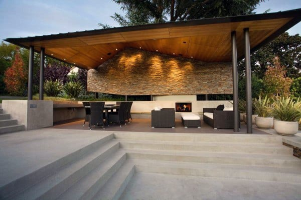 Charmant Covered Concrete Patio Ideas