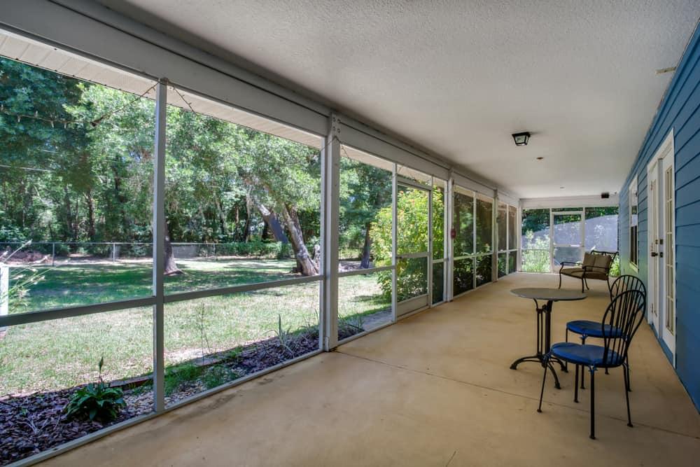 covered enclosed patio ideas 1