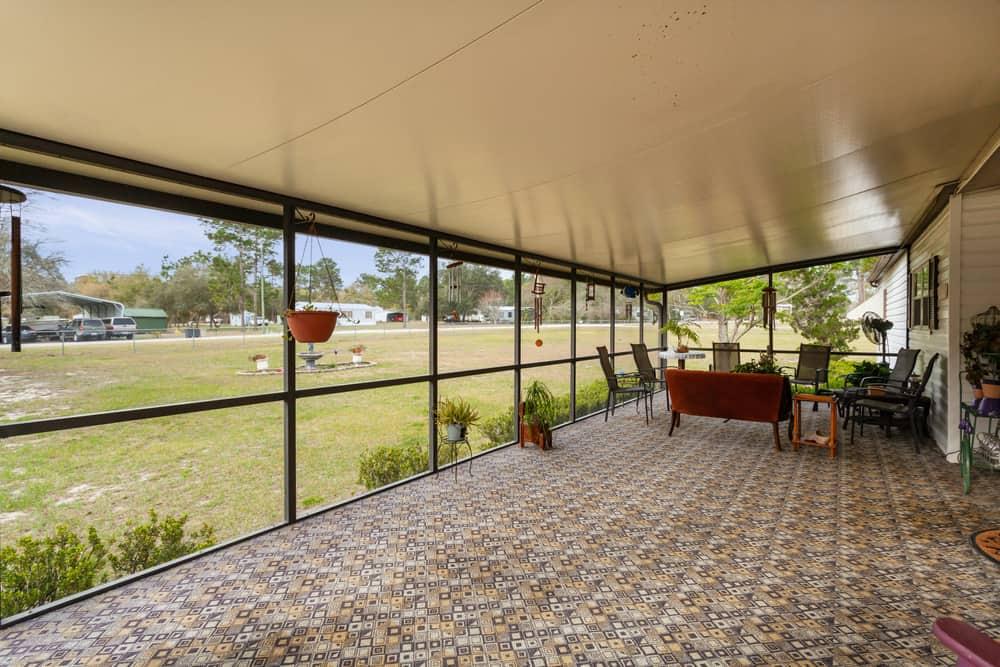 covered enclosed patio ideas 2