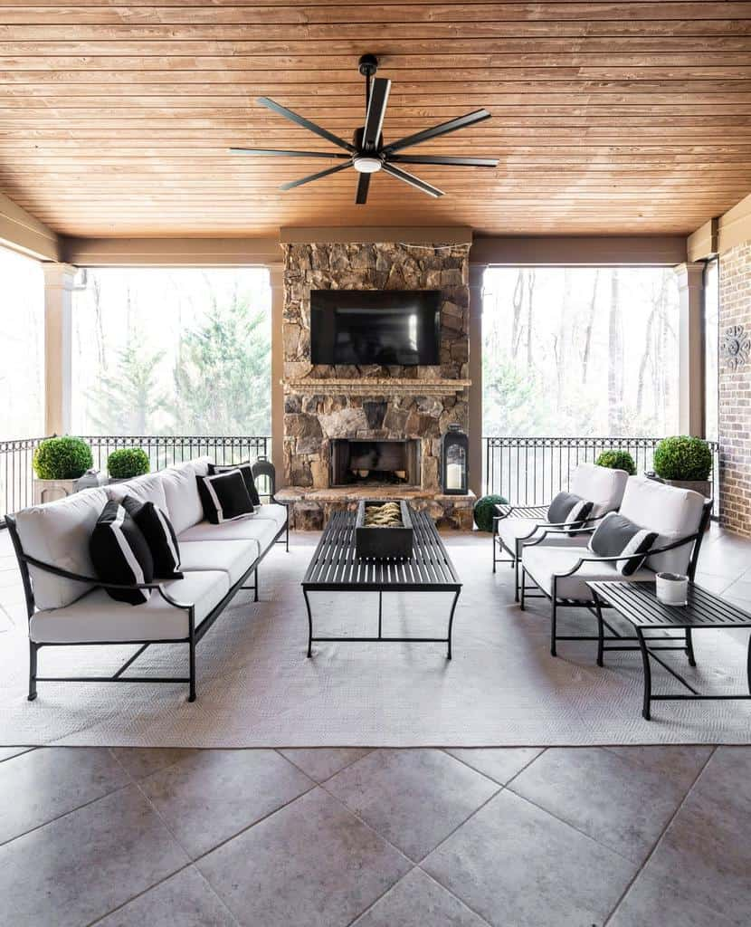covered enclosed patio ideas infinitehome