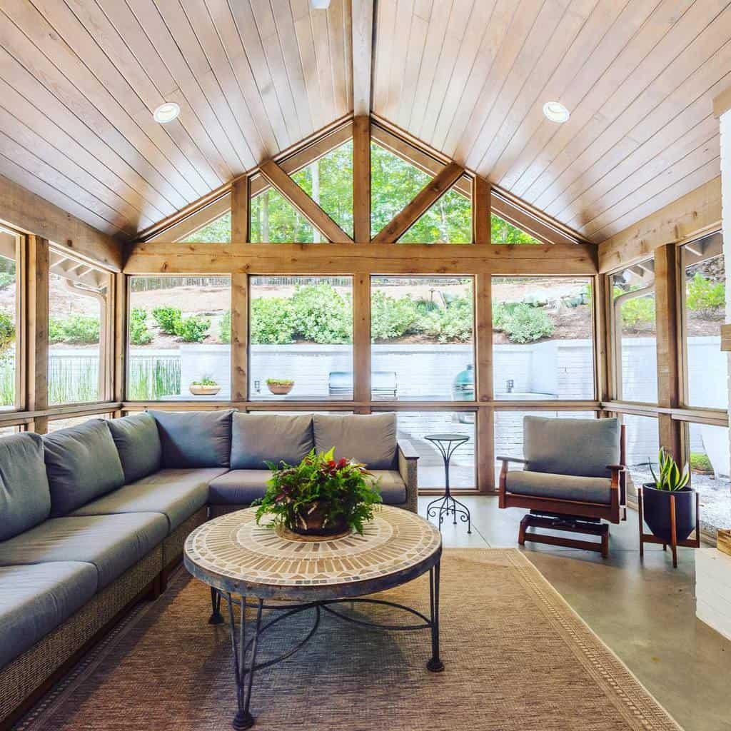 covered enclosed patio ideas wrightgardnerarchitect