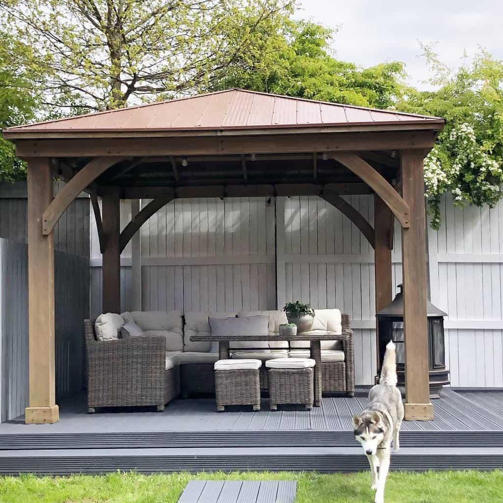 covered patio deck ideas sammypattersonathome