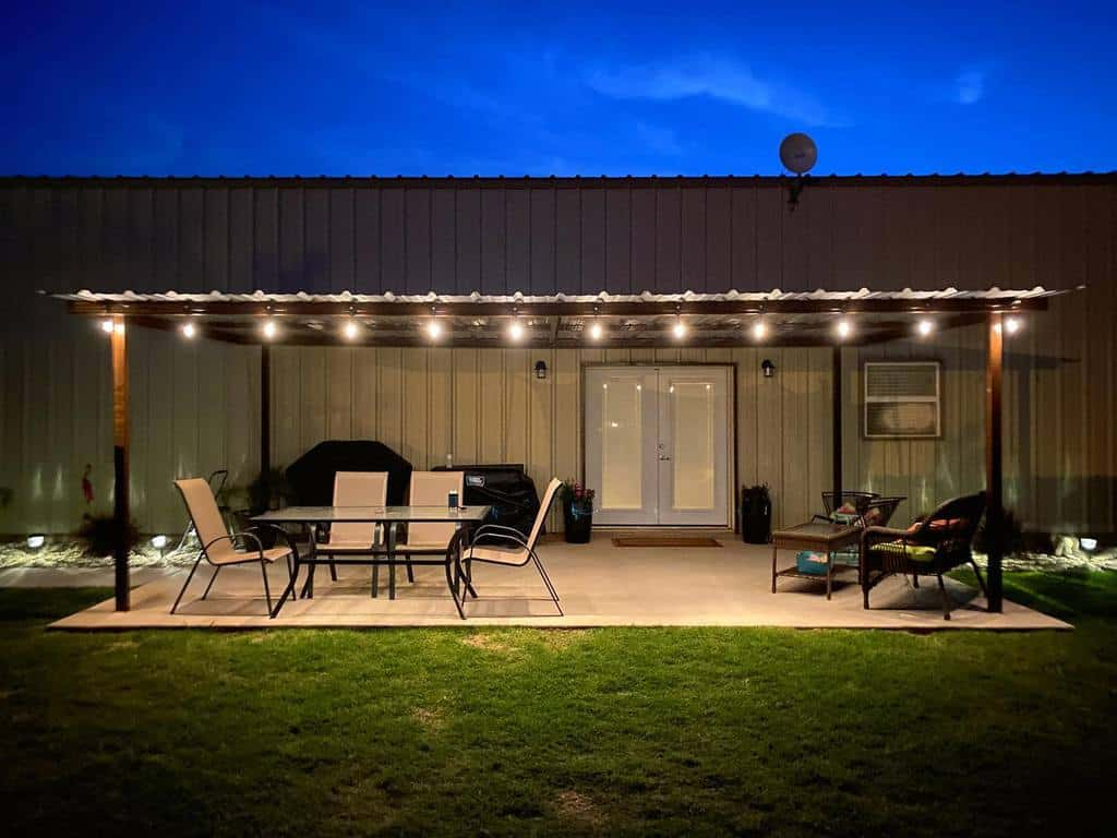covered patio lighting ideas 2 wearetheweddles