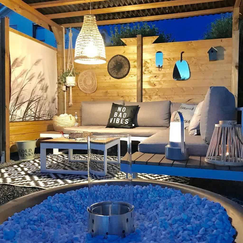 covered patio lighting ideas my.homestory
