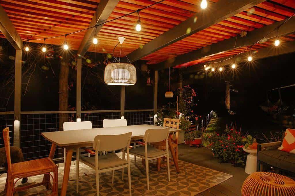 covered patio lighting ideas studioplumb