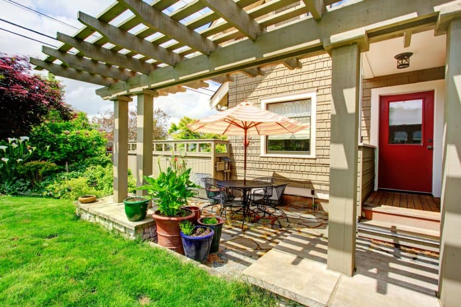 Covered Small Patio Ideas 10