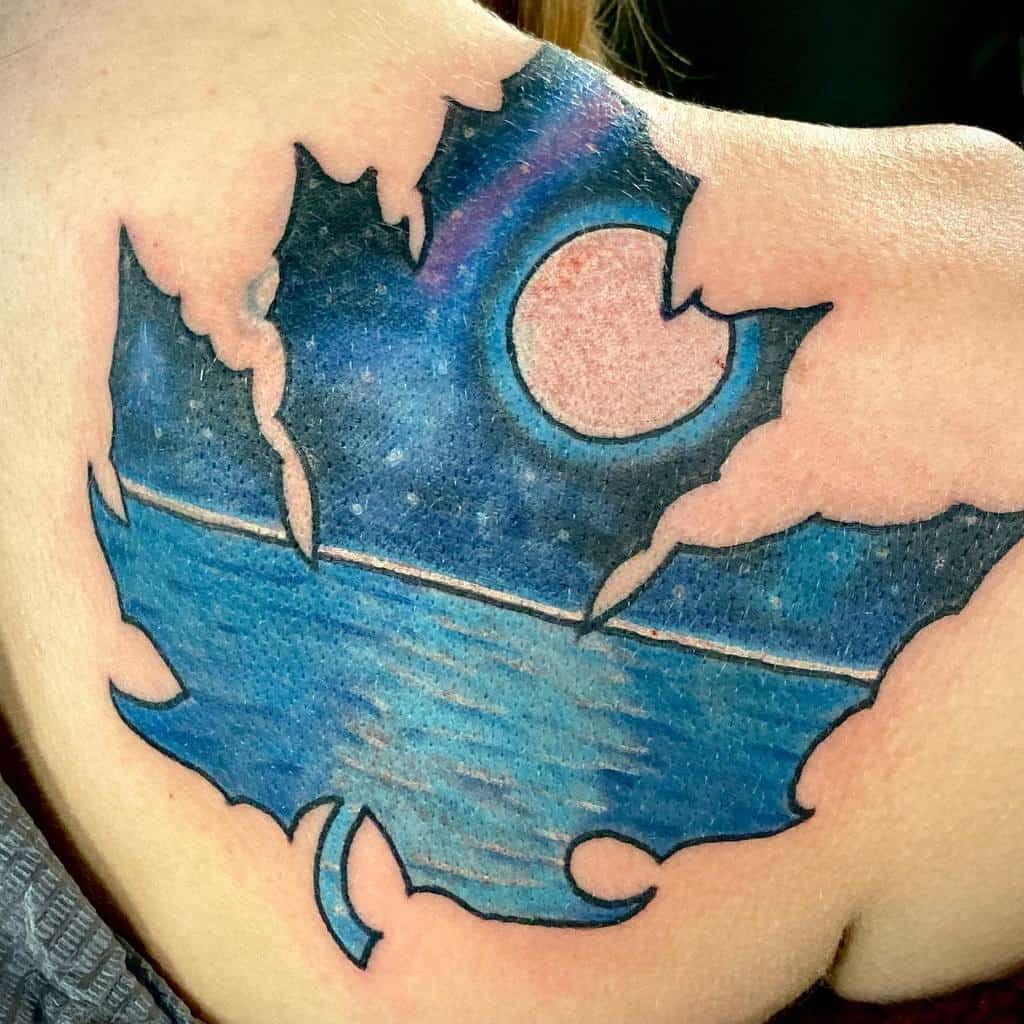coverup-maple-leaf-ocean-tattoo-richeytattooer