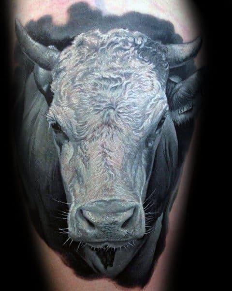 Cow Themed Tattoo Ideas