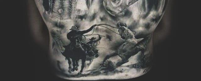 Cowboy Tattoos For Men