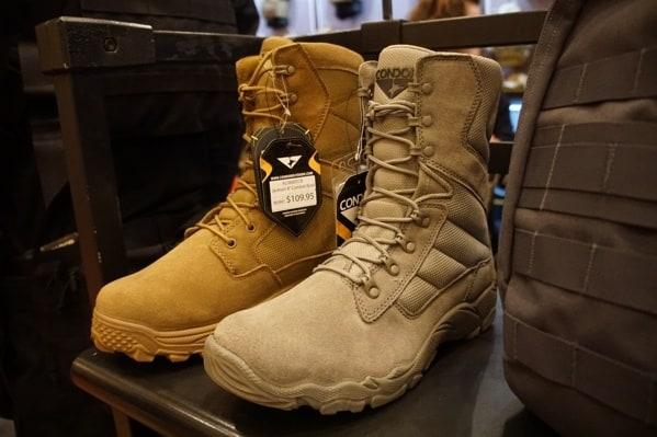 Coyote Brown Condor Mens Tactical Boots