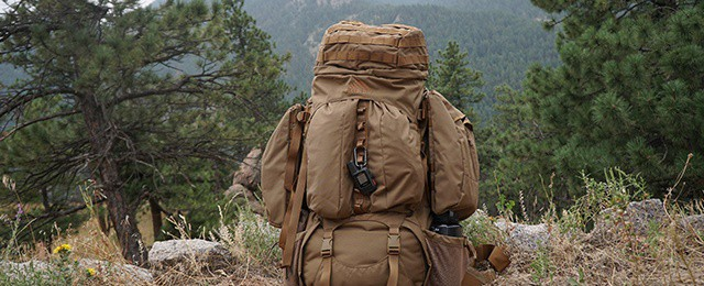 Coyote Brown Kelty Eagle Backpack Review Large 128 Liter Tactical Military Pack