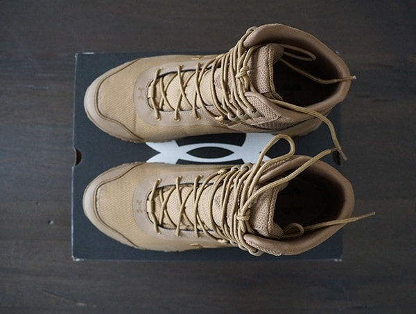 Coyote Brown Mens Under Armour Valsetz Rts 1 5 Tactical Boots