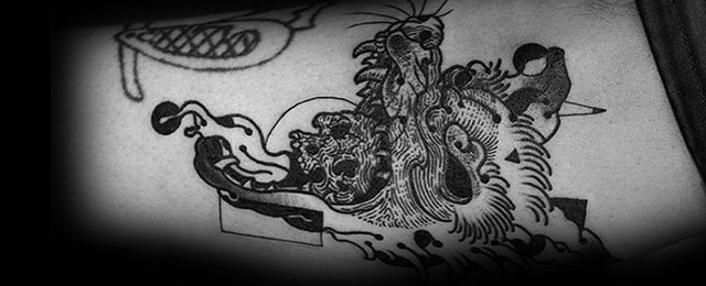 60 Coyote Tattoos For Men – Canis Latrans Design Ideas