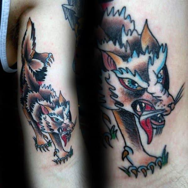 Coyote Tattoos Guys
