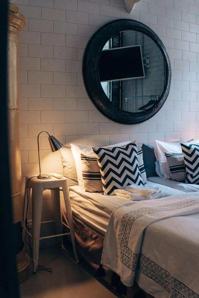 cozy apartment bedroom