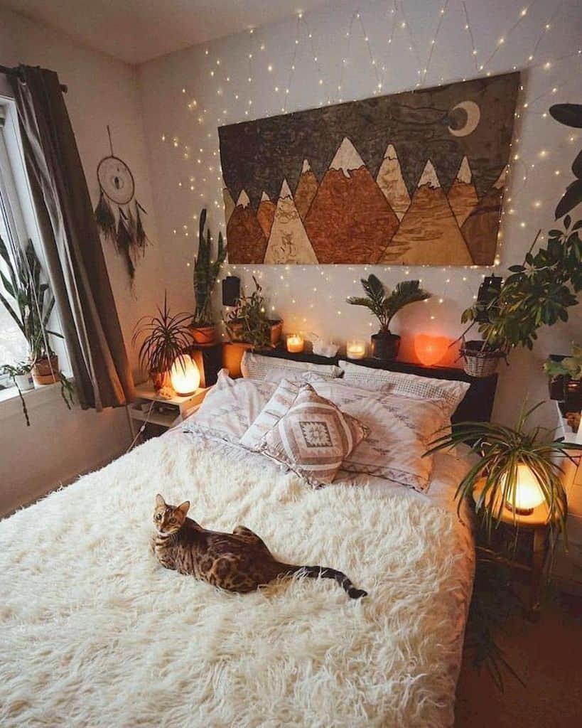 cozy boho bedroom ideas allhomeaesthetics