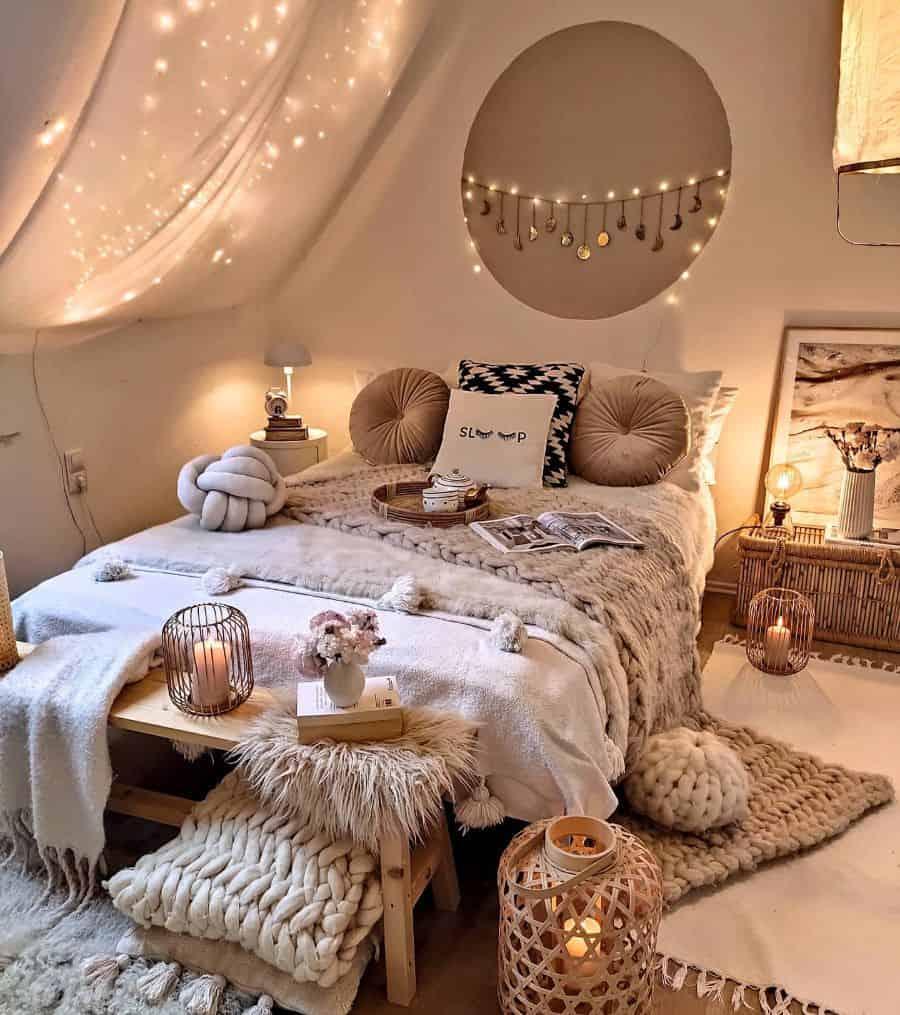 cozy boho bedroom ideas herzenstimme