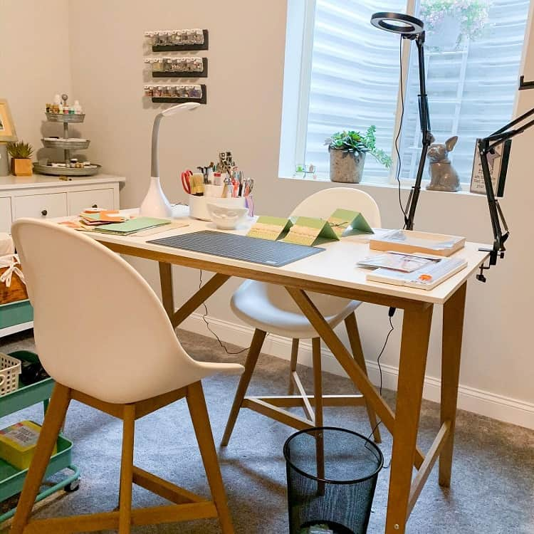 Cozy Craft Room