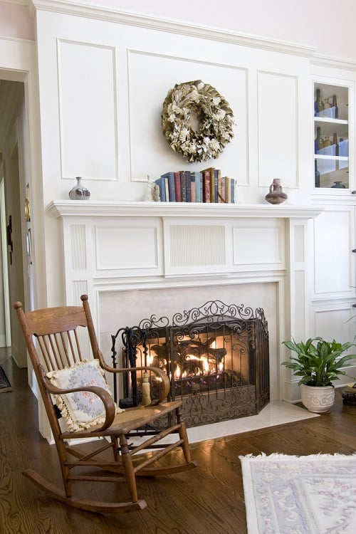 Cozy Fireplace Mantel Decor Ideas