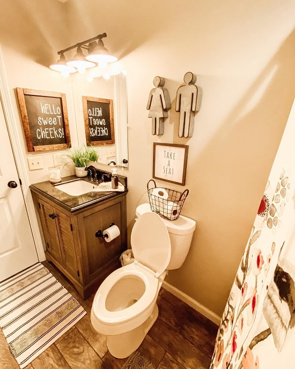 Cozy Small Farmhouse Bathroom Decor Darra.farmhousebeauty