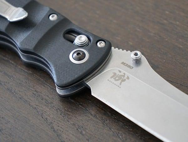 Cpm S90v Steel Benchmade Nakamura Axis Knife Blade