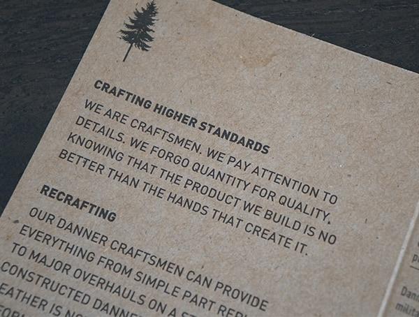 Crafting Higher Standards Danner Crag Rat Tag
