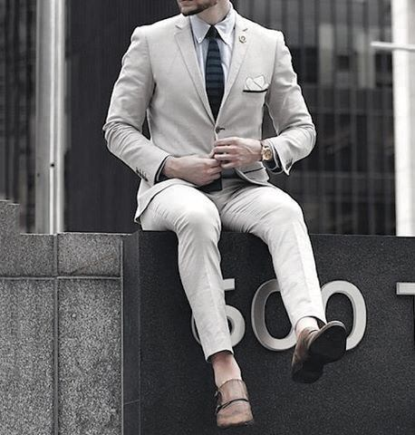 Cream White Suit Guys Fashion Ideas Trendy Outfits Styles