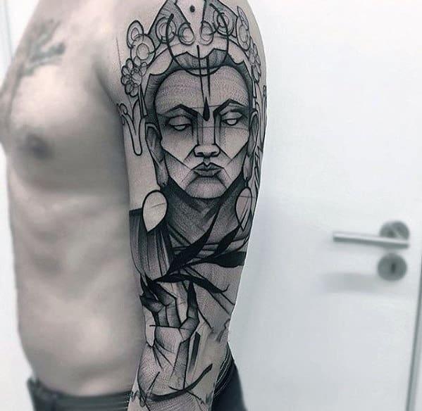 Creative Awesome Male Arm Tattoo Inspiration