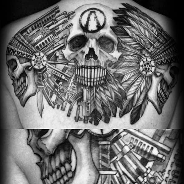 Creative Borderlands Tattoos For Men