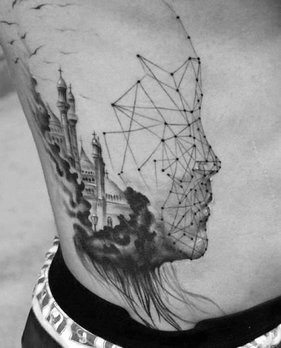 Creative Esoteric Tattoos For Men
