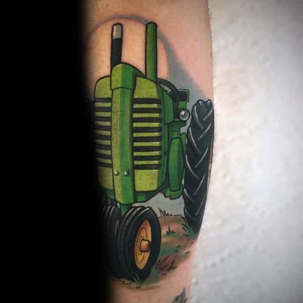 Creative Farming Tattoos For Guys