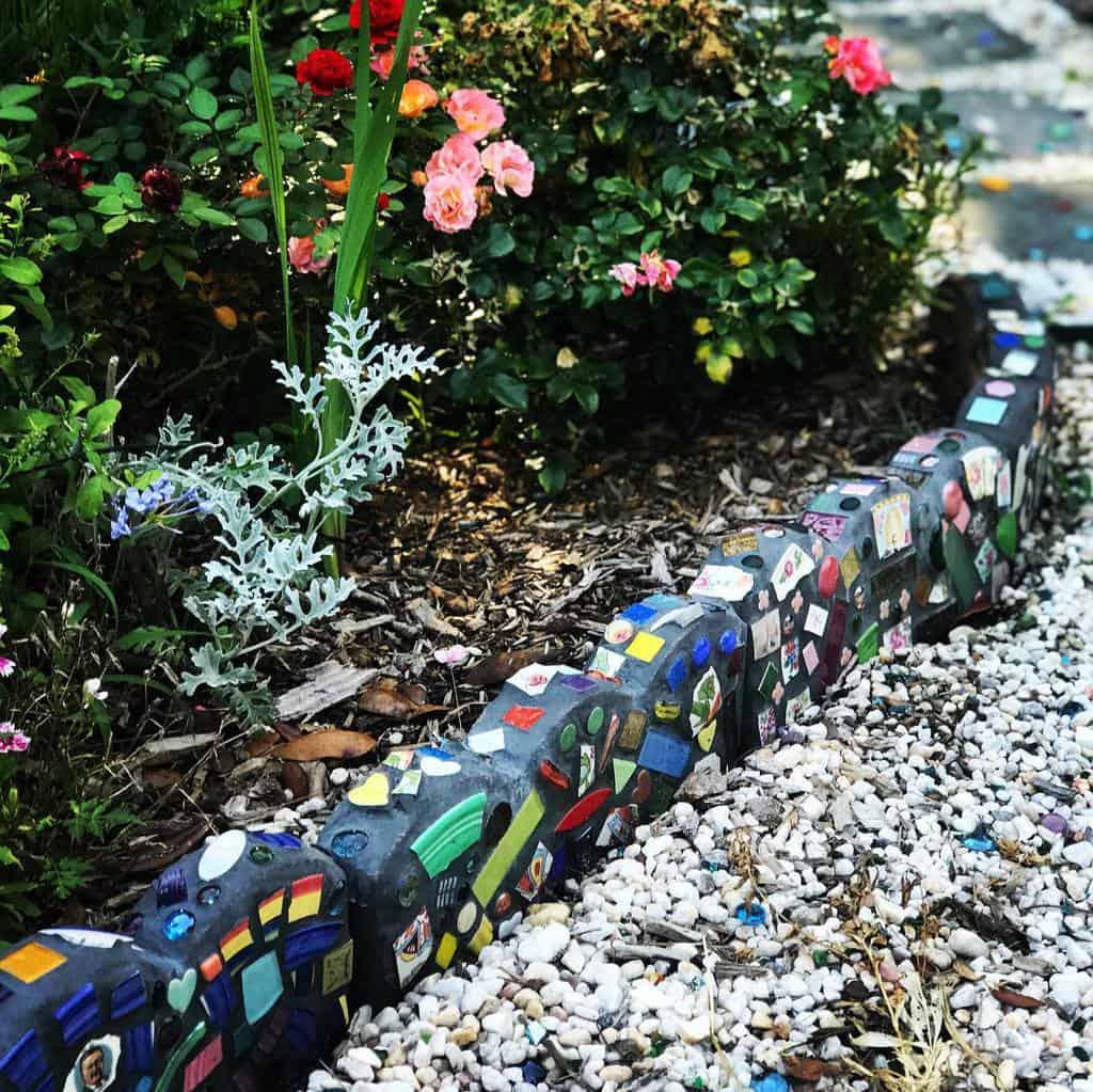 creative garden edging ideas ginny_sass