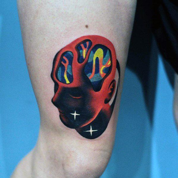 Creative Gradient Tattoos For Men