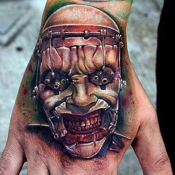 Creative Hellraiser Tattoos For Guys