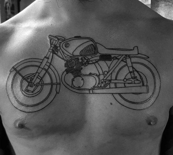 Creative Honda Tattoos For Guys