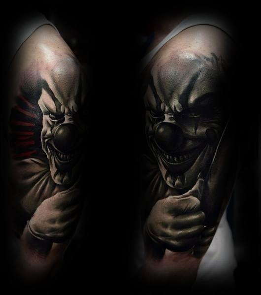 Creative Horror Movie Tattoos For Guys