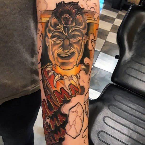 Creative Indiana Jones Tattoos For Guys