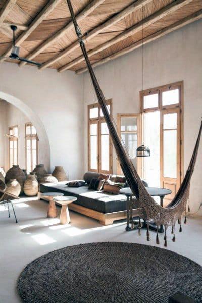 Creative Indoor Hammock Interior Ideas