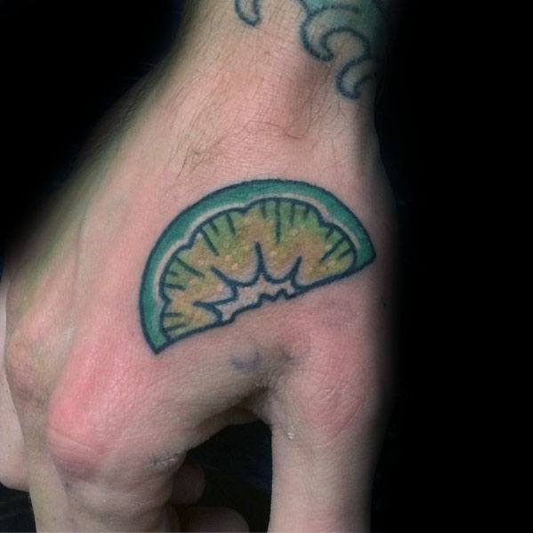Creative Lime Tattoos For Guys
