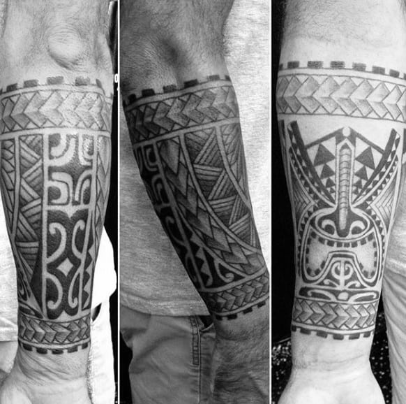 Inner Forearm Tattoos For Men