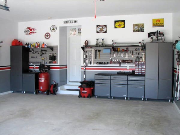 50 Garage Paint Ideas For Men - Masculine Wall Colors And ... on Garage Colors  id=84526