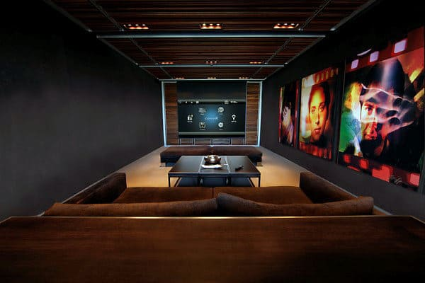 Creative Movie Room Ideas For Guys