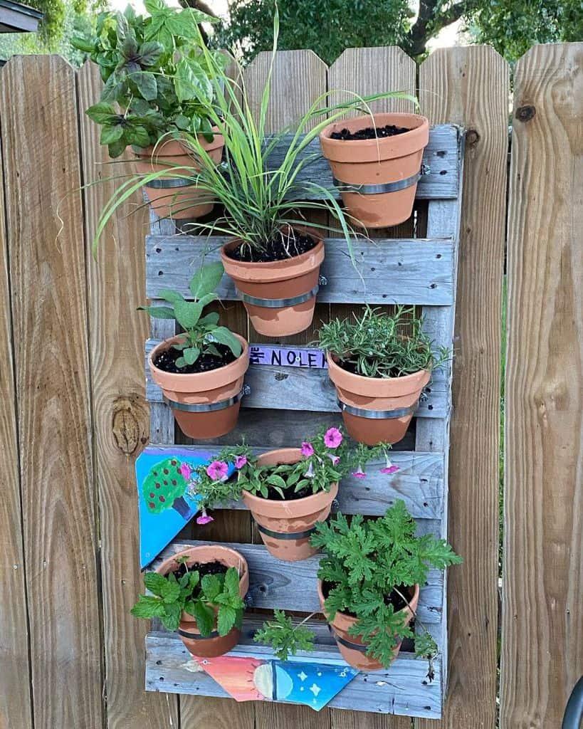 creative pallet garden design ideas n_nolen